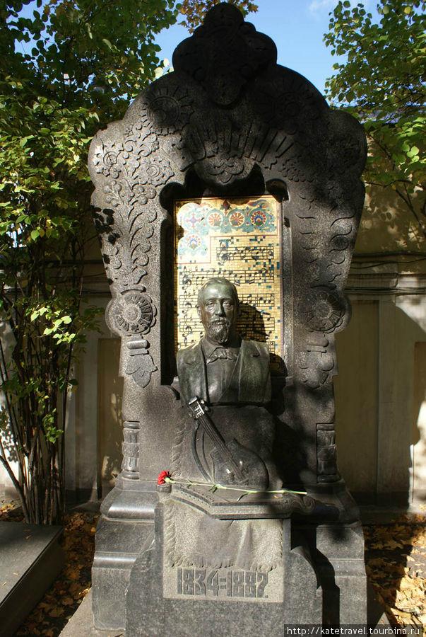 Памятник на могиле А.П. Б