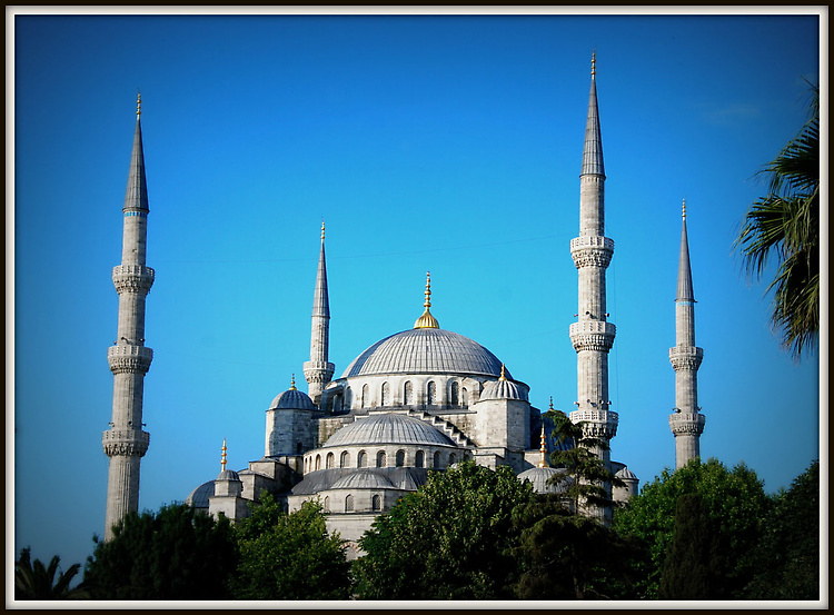 Голубой шедевр исламской архитектуры