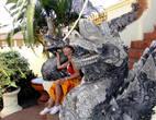 В Лаосе всегда почитали змей-нагов и считают их покровителями своей страны и средневекового королевства Лансанг