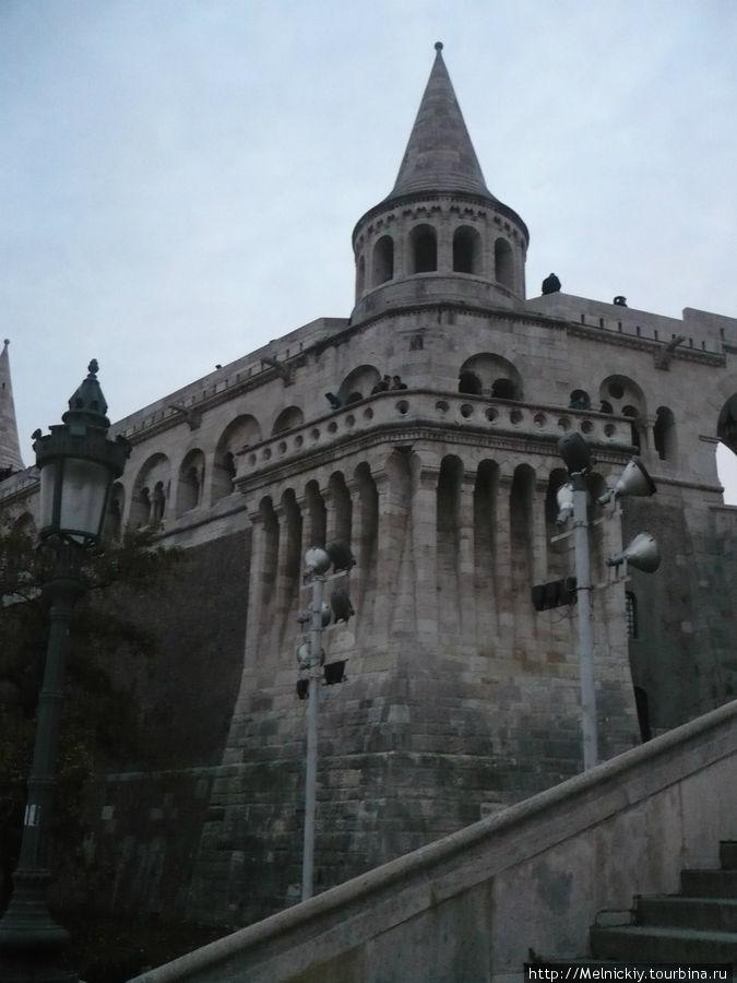 будапешт будайская крепость и рыбацкий бастион