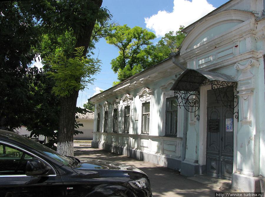 Дом, где писатель жил с 1923 по 1966 год. Сейчас здесь дом-музей писателя.