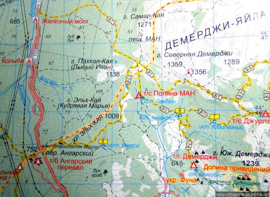 На карте наглядно видно, откуда и куда шли