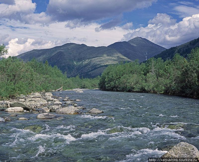 Река Парнук. В летнем варианте.