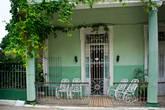 Веранда жилого дома. Или балкон.
