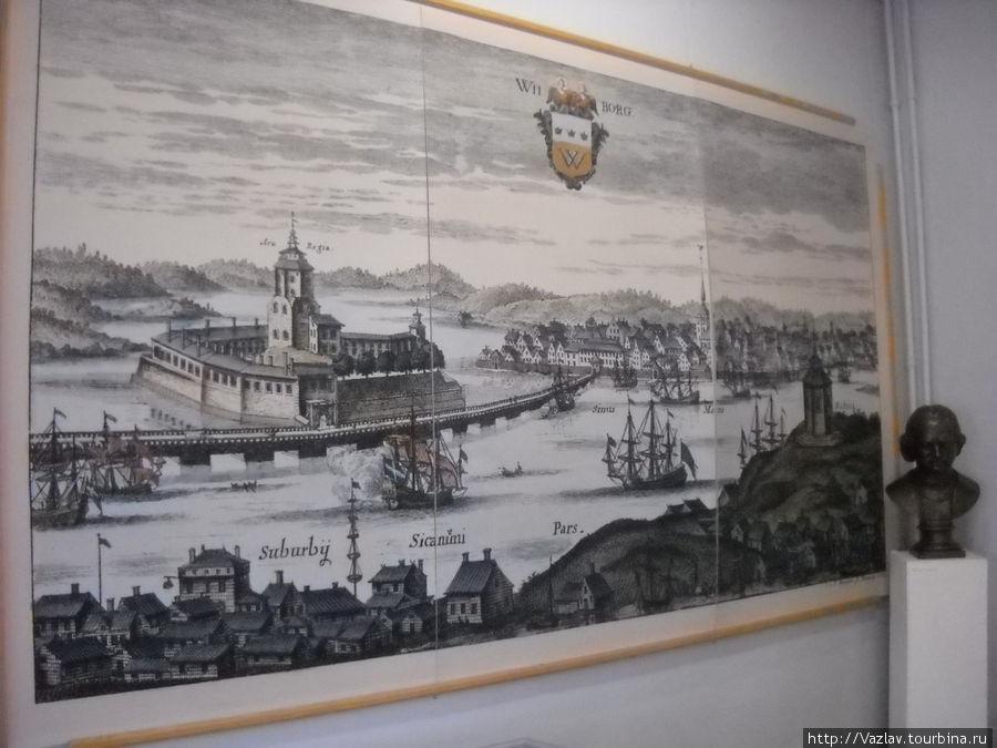 Панорама старинного Выборга