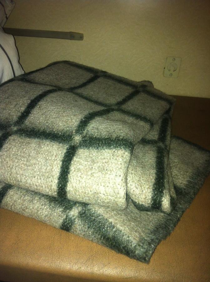 Одеяла просто в ужасающем состоянии