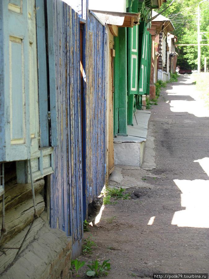 В районе улицы Чернышевского.