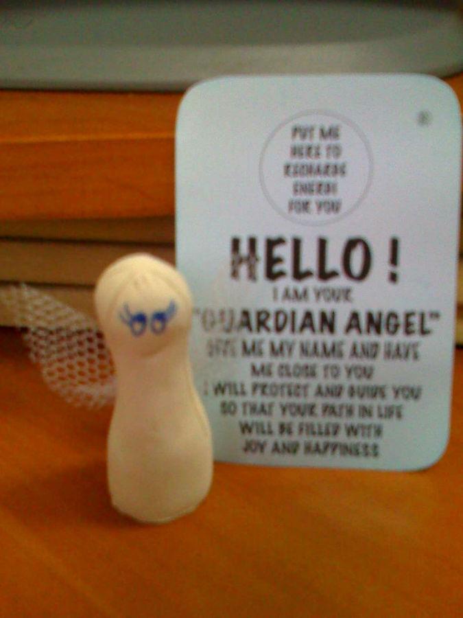 Персональный ангел-хранитель. Не забудьте дать ему имя