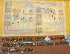 6Тепатл- 9Акатл(1316-1319) Поселение  Аколнáуак. Правление Тецоцóмока: короля Ацкапатлока. 10Тепатл- 13Акатл(1320-1323) Поселение Попотлан. Выход в Тезкатитлан