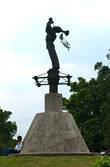 Памятник танцорам Папантлы в Эль Тахин
