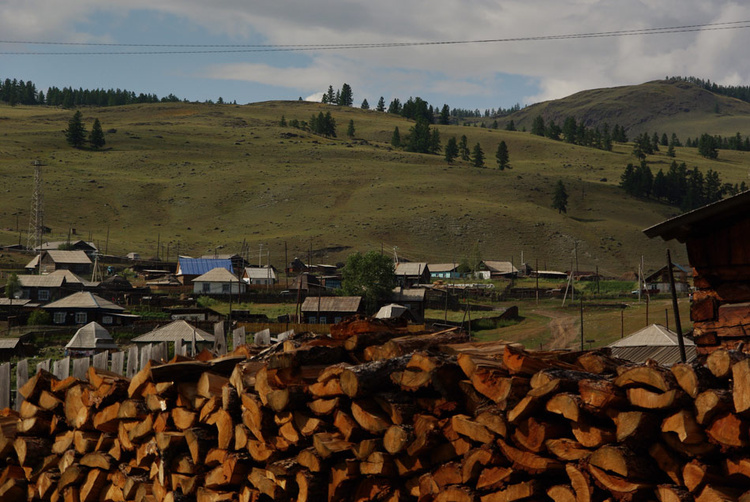 Село Улаган. Районный цен