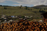 Село Улаган. Районный центр Улаганского района Республики Алтай.