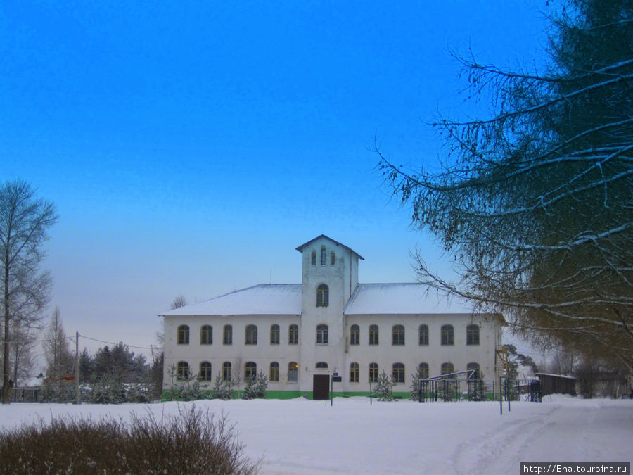 Здание кукобойской школы