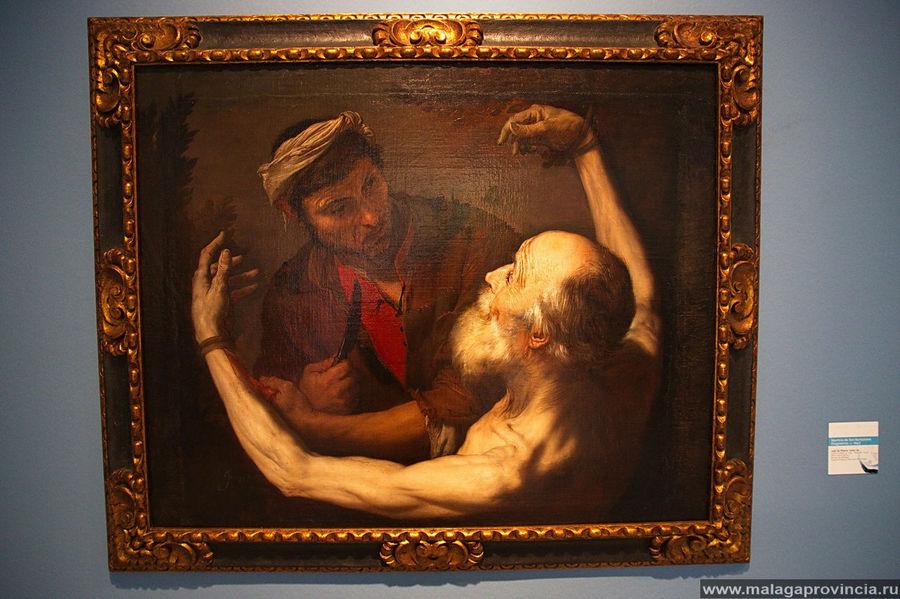 Мучение Св. Бартоломео, 1645 г