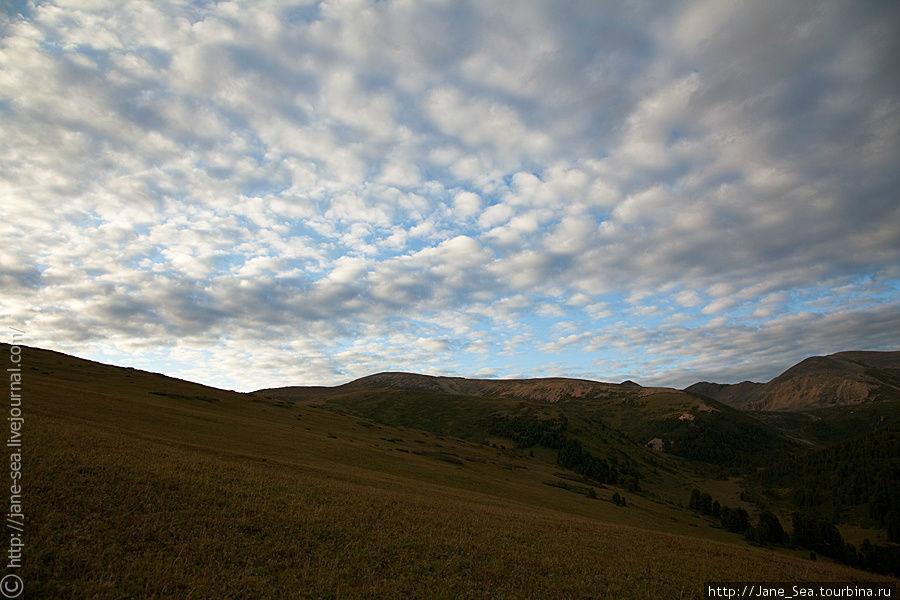 Рябые облака Тюнгур, Россия
