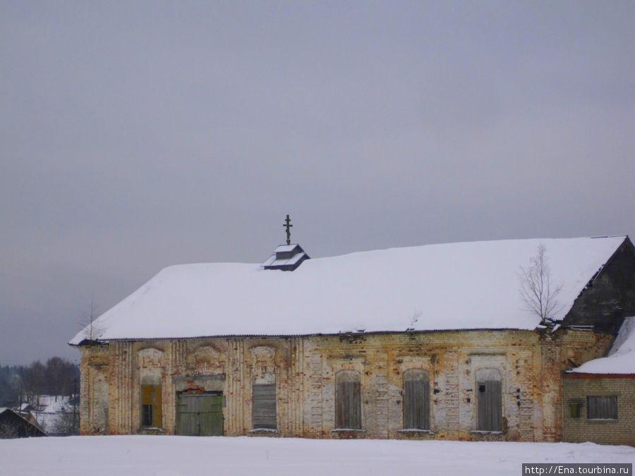 Остатки Никольской церкви