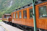 Бывший поезд — теперь популярный ресторанчик
