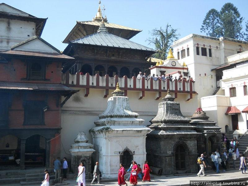 И служило для этого место успения и кремации благоверных индуистов — Пашупатинат.