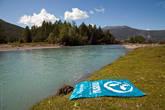 Турбина отдыхает на берегу реки Джазатор