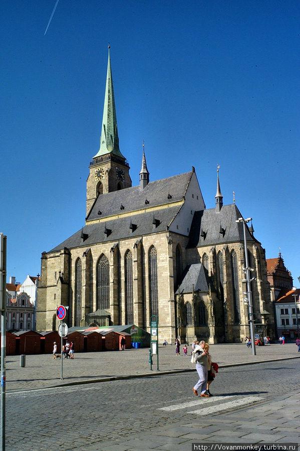 Кафедральный собор Св. Варфоломея Пльзень, Чехия