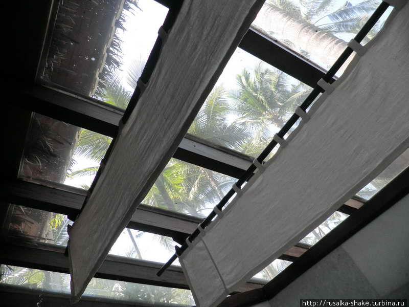 Крыша в душе