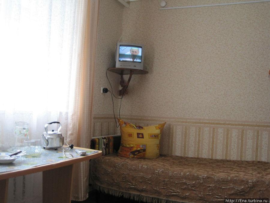 Номер двухместный стандарт  в гостинице
