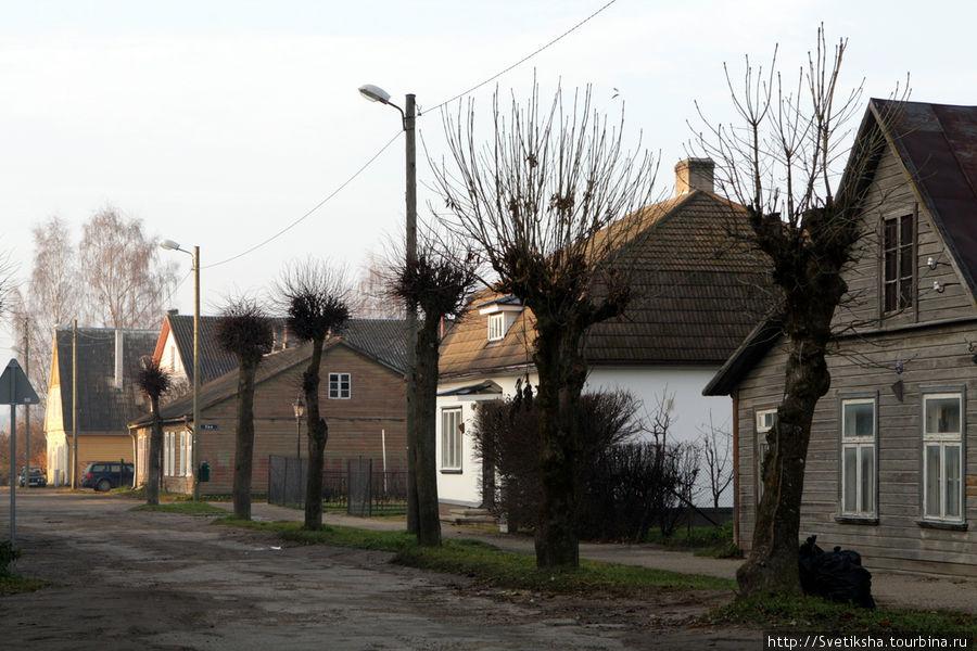 Маленький эстонский городок Выру Выру, Эстония