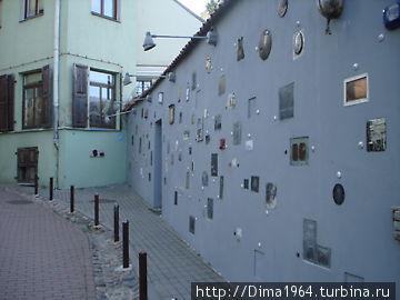Стена писателей