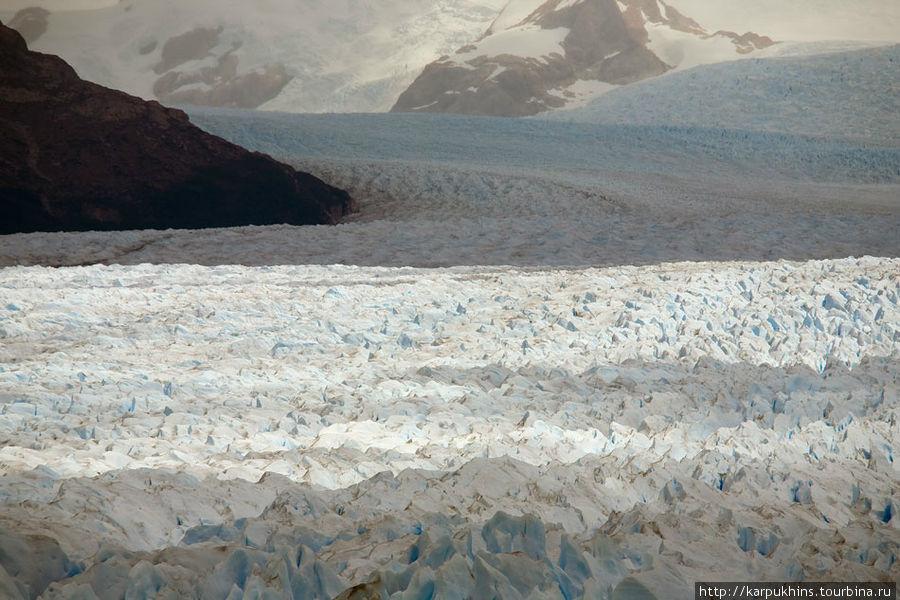 Ледниковое поле Перито Морено.