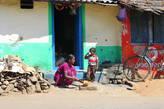 Обычная жизнь деревенских жителей
