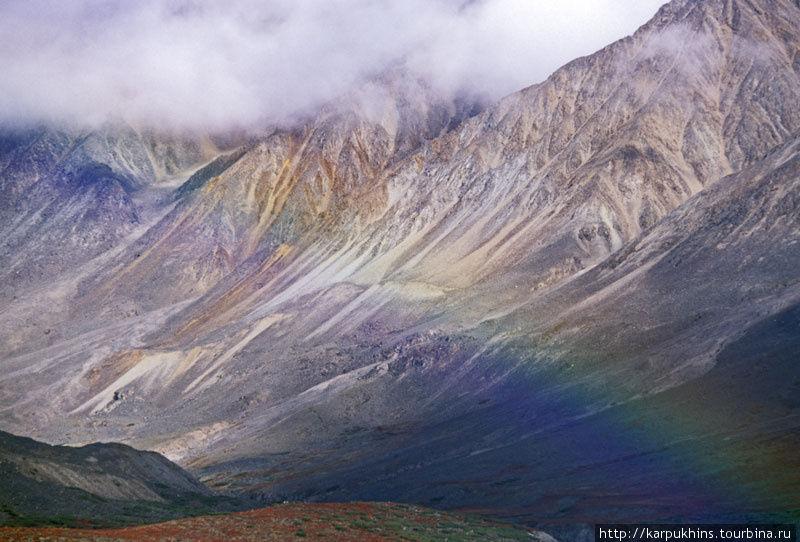 Радужные горы.