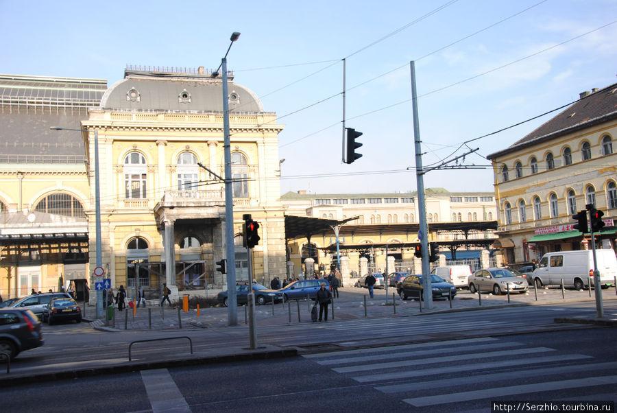 Вокзал Будапешт Келети, куда приезжают и откуда отправляются поезда из Москвы