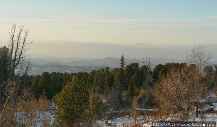 Панорама хребта Иолго