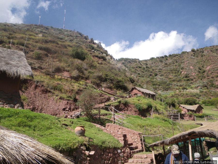 Авана Канча Писак, Перу