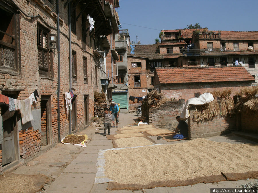 Бунгмати — возвращаемся в VII век Бунгмати, Непал