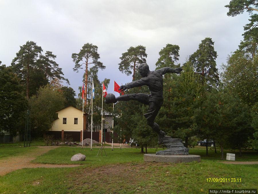 Сквер имени Всеволода Боброва