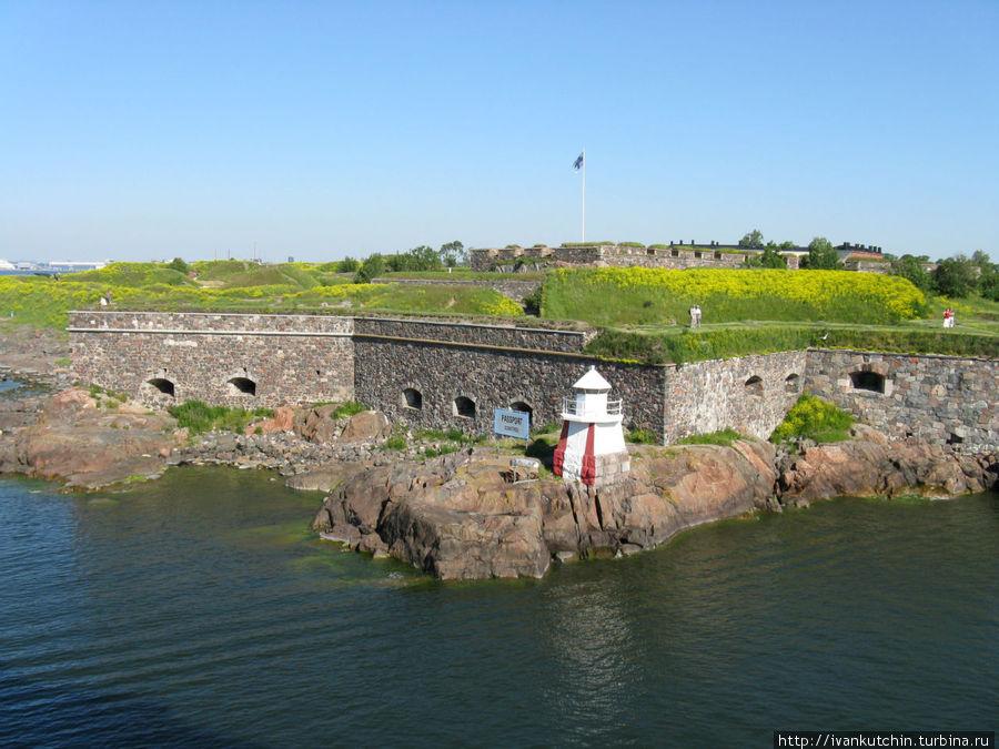 Рано утром финны уже гуляют в крепости