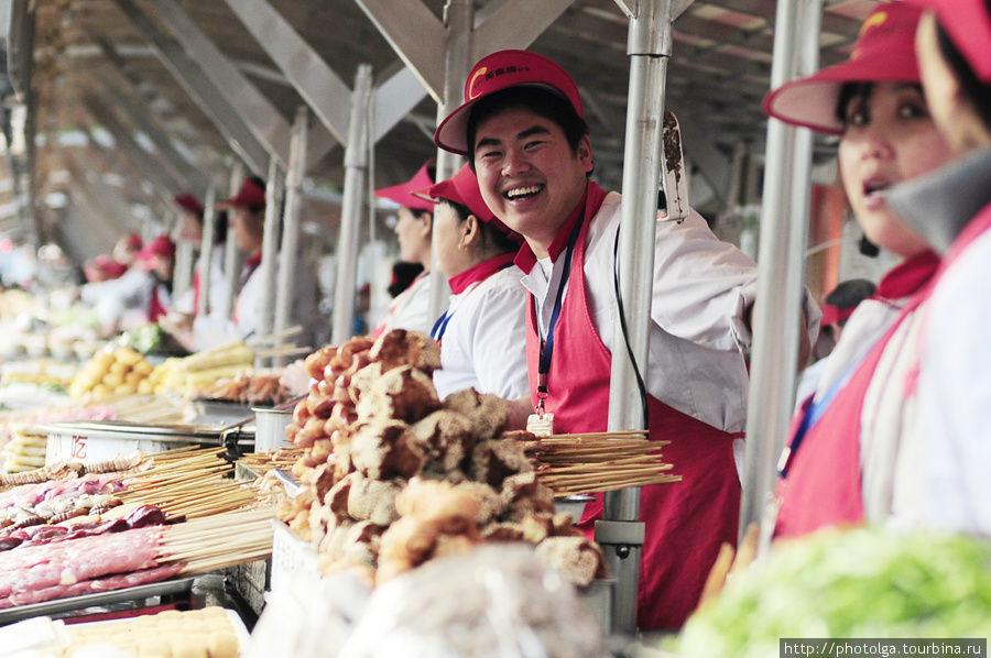 Китайская еда. Пекин. Пекин, Китай