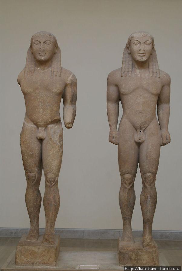 Скульптуры братьев из Аргоса Клеобиса и Битона