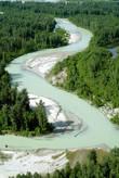 Река Толкитна: цвет воды именно такой — молочно-кисельный (так вот откуда сравнения в сказках).