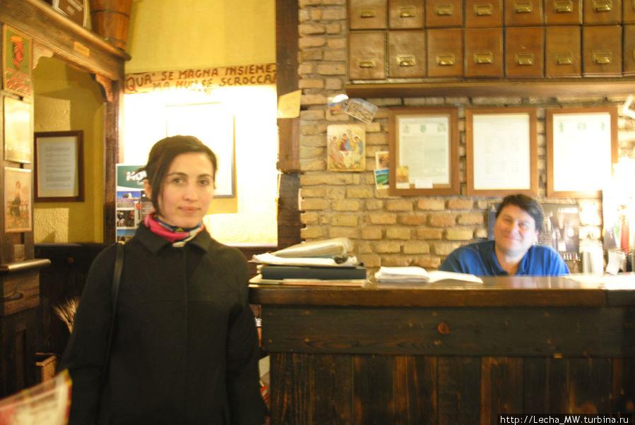 Посетительница, Рублев и касса