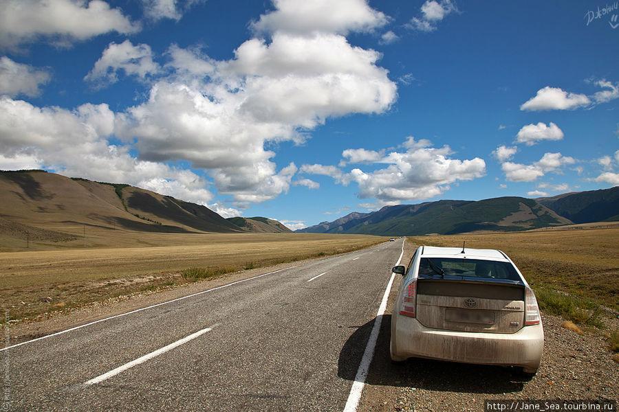 Снова к вопросу о проезжабельности. Отличная шоссейная дорога, не даром же это трасса федерального значения.