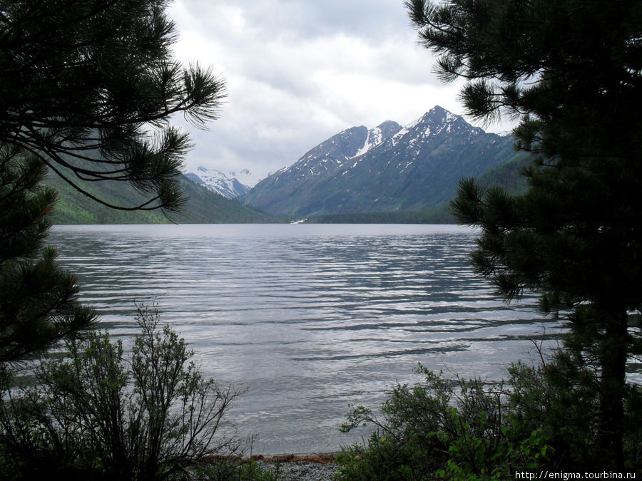 Нижнее или 1-е Мультинское озеро.