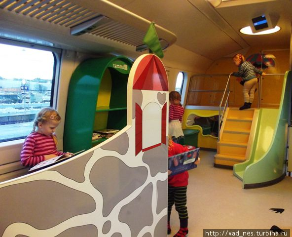 В детском вагоне