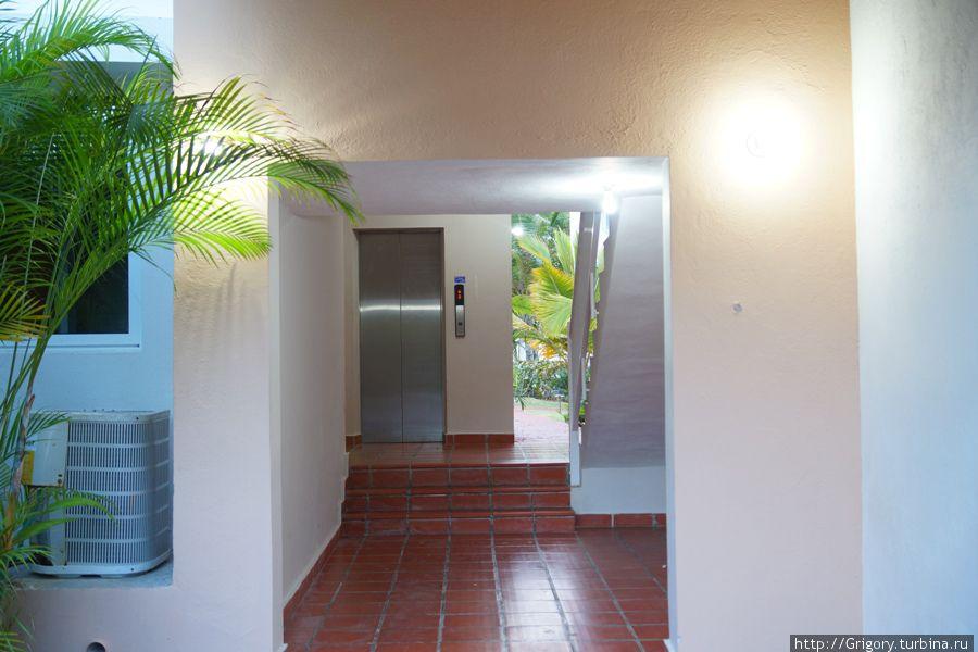 Лифт в Доминикане- эт статус :-))))