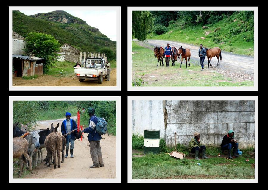 Люди Сото — жители Лесото.  На границе ЮАР и после нее.