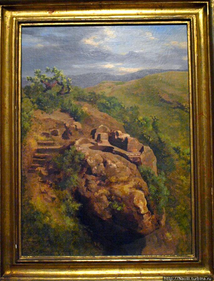 Бани царя Несауалькойотла, 1878 (построены в 1400 годах, и к 19 веку уже были в руинах)