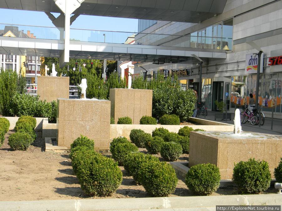 Ниредьхаза -центр города, торговый центр