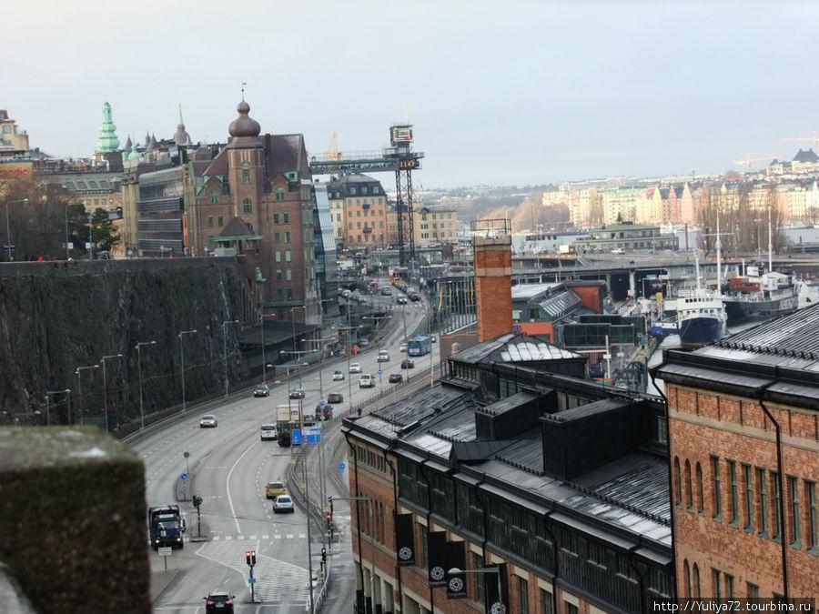 Вид на Стокгольм.
