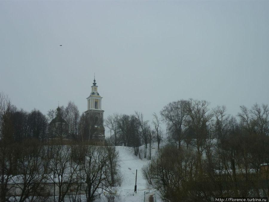 Вид на Рождественский собор от Протвы